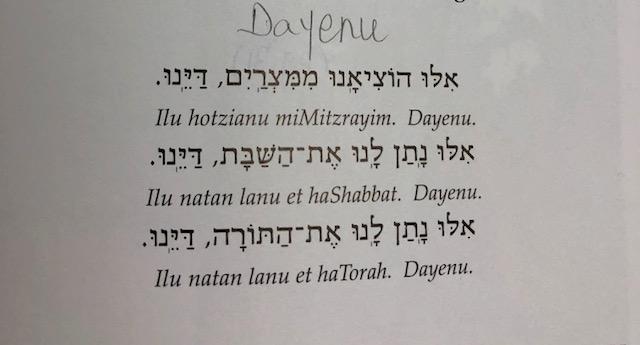 4-Dayenu
