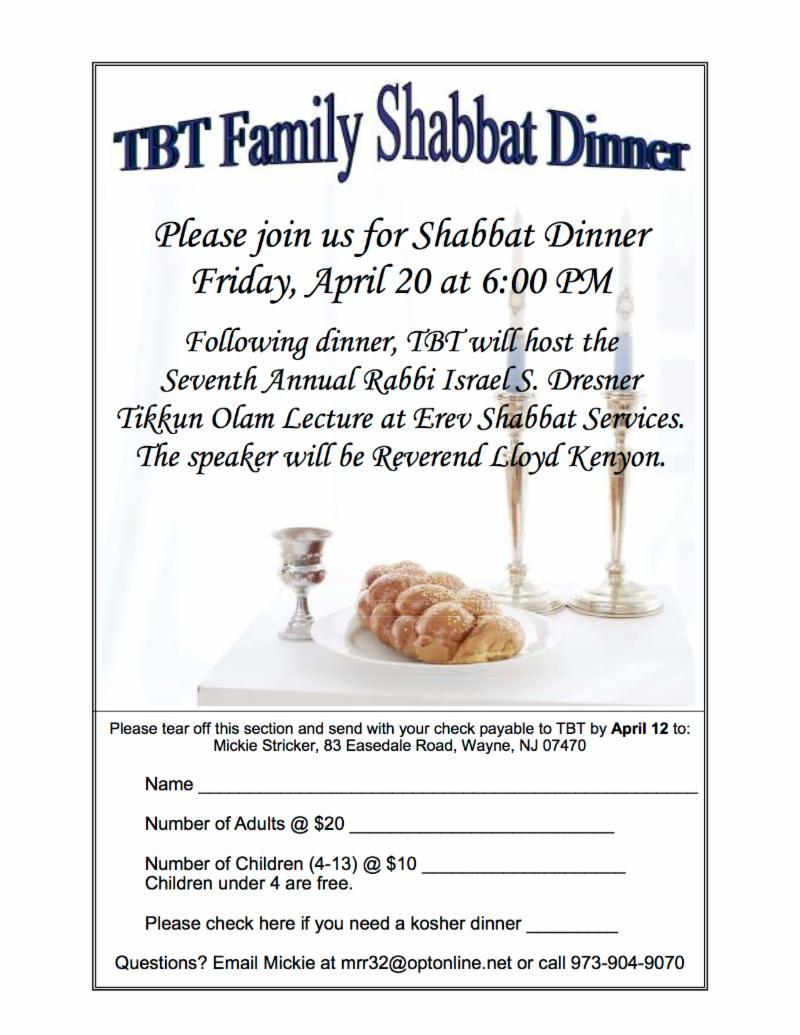 DinnerRev1 ShabbatApril20 2018
