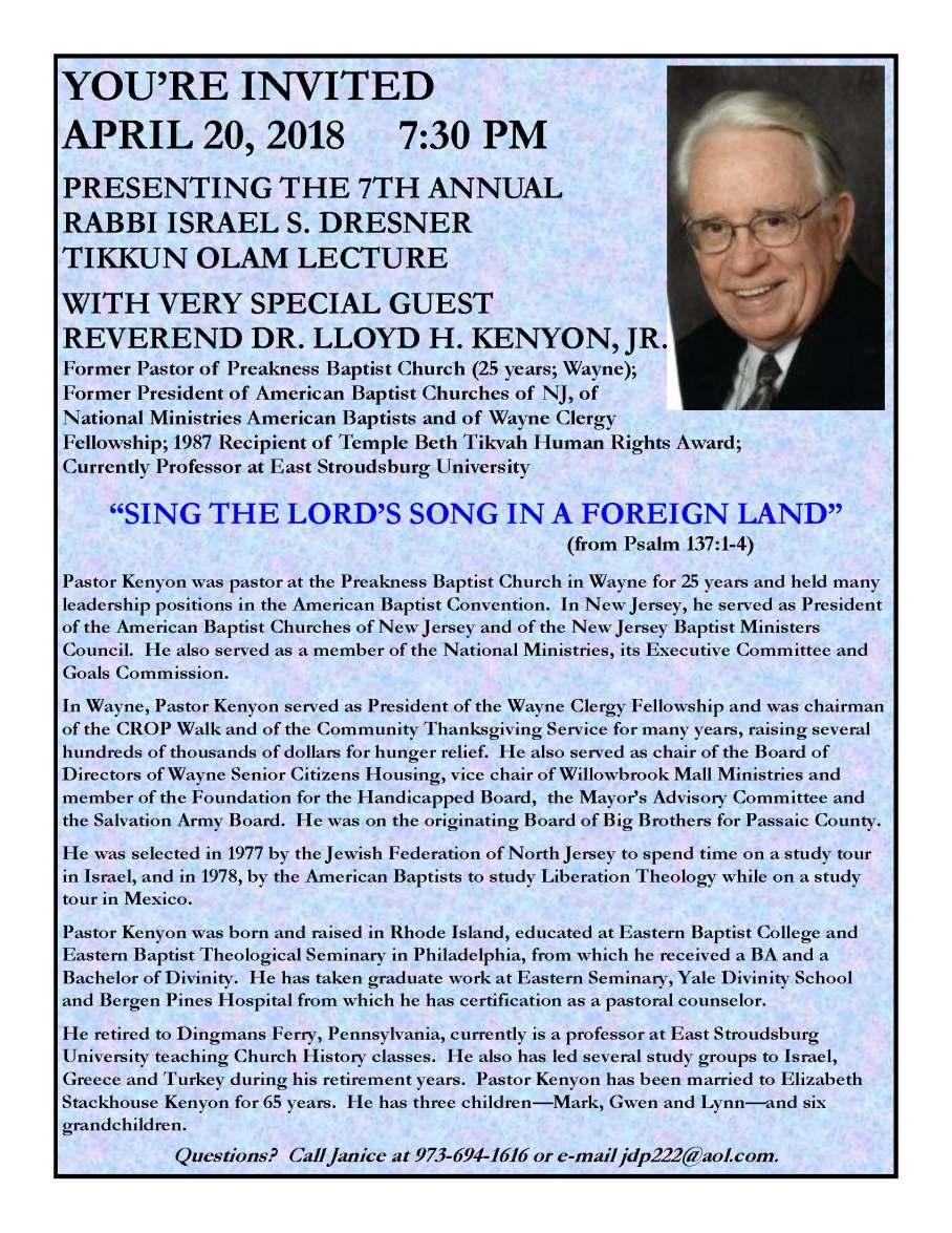 Lloyd Kenyon Flier