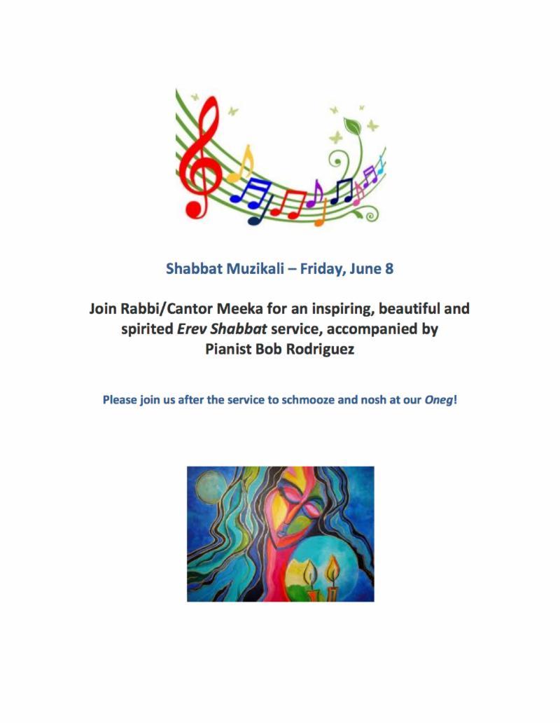 Shabbat Muzikali June2018