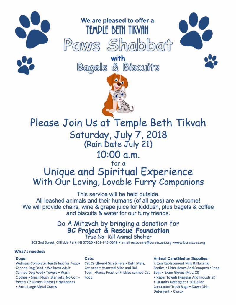 Paws Shabbat Rev1